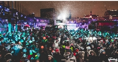 Igloofest in the Old Port