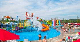 Complexe Atlantide Water Park - Camping