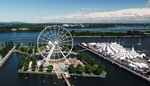 The Montreal Ferris Wheel at the Old Port of Montreal