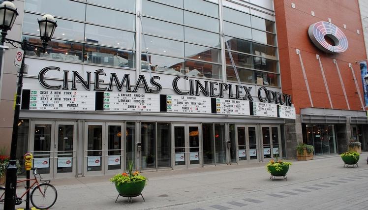 quartier latin movie theater cineplex odeon sheet. Black Bedroom Furniture Sets. Home Design Ideas