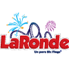 LA RONDE Six Flags Park Logo